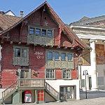 Das berühmte Rote Haus in Dornbirn.