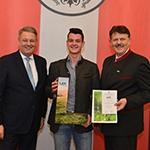 Forstlehre beim Maschinenring - Auszeichnung durch BM Andrä Rupprechter