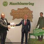 Übergabe Positionspapier der österreichischen Maschinenringe zum nationalen GAP Strategieplan Österreich