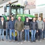 Gruppenfoto Traktorgemeinschaft Aistersheim-Weibern