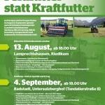 Maschinenring Cluster Veranstaltung: Grünlandneuanlage und klimafitter Grünlandbestand