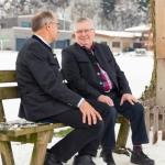 Obmann Hannes Haas (l.) und Gründungsobmann des MR Schwaz Adolf Pfandler