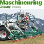 Maschinenring Gülle Schleppschuhtechnik Maschinenring Zeitung