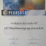 Verleihung Sonderpreis im Bereich Beschäftigung 2010
