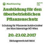 Maschinenring Pflanzenschutztag 2017