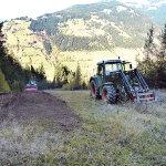 Forstfräse am Ronachkopf