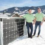 Leoganger Firma stellt innovatives Produkt vor - Zäune als Photovoltaik-Anlagen