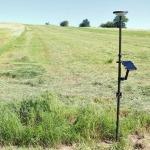 Agrarflächenfeststellung Smartantenne in Natur