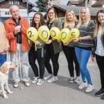 2.000 Euro Spende für den Blindenverband