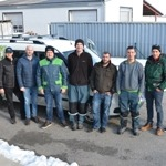 Seilkletterer unterstützen Salzburger Teams