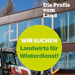Landwirte für Winterdienst 2018/2019 gesucht