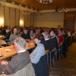 Voller Saal bei der Generalversammlung