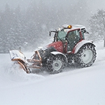 Winterdienst und Schneeräumung vom Maschinenring