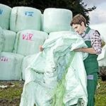 Agrarfolien und Silofolien sammeln