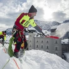 Winterdienst Maschinenring Dachabschaufeln Osttirol Lienz